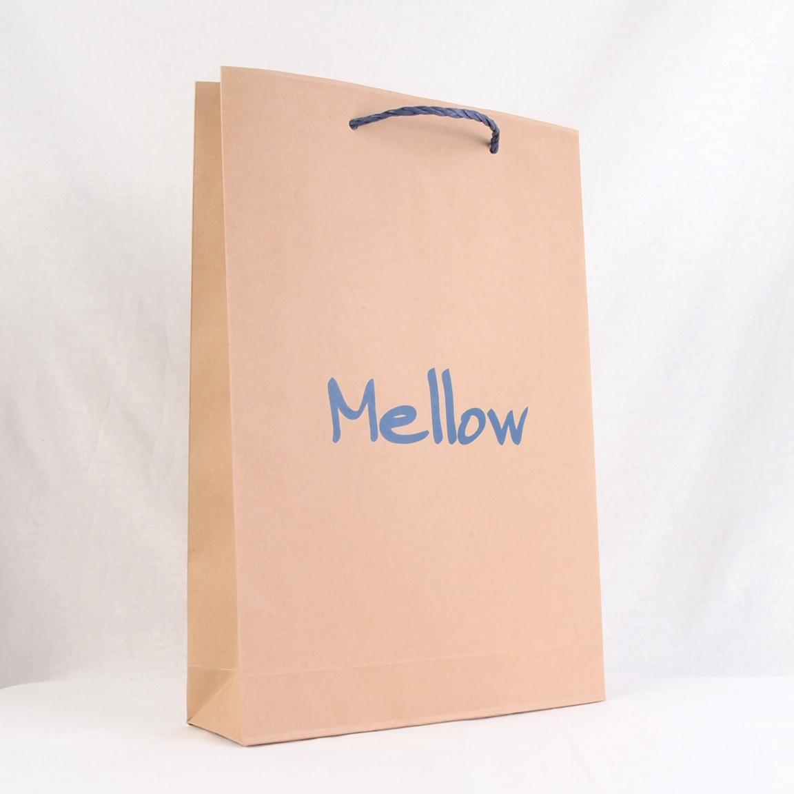 茶色クラフト紙の紙袋サンプル2