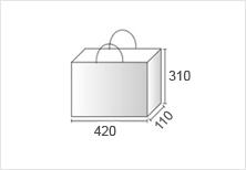 Lサイズの紙袋