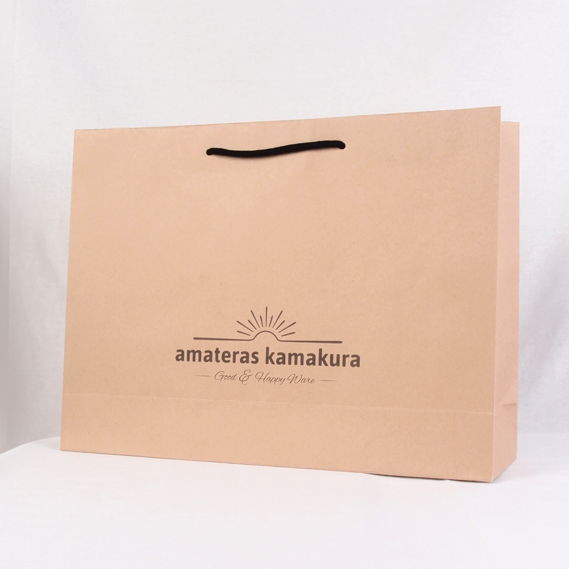 茶色クラフト紙の紙袋サンプル3