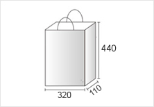 MLサイズの紙袋
