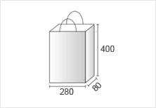 MMサイズの紙袋